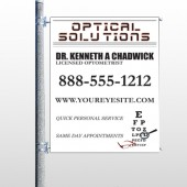 Eye Doctor 131 Pole Banner