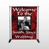 Rose Couple 04 Pocket Banner Stand