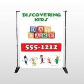 Toy Blocks 183 Pocket Banner Stand