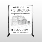 Builder 36 Pocket Banner Stand