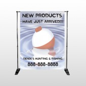 Fishing Bobber 410 Pocket Banner Stand