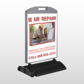 AC Repair 251 Wind Frame Sign