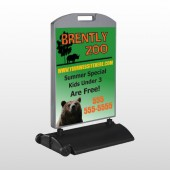 Bear Zoo 302 Wind Frame Sign