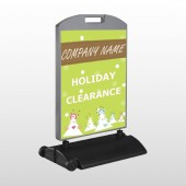 Holiday Clearance 13 Wind Frame Sign