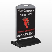 Monkey Wrench 257 Wind Frame Sign