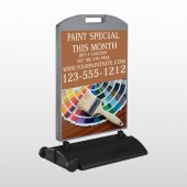 Paint Brushes 256 Wind Frame Sign