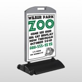 Zoo 127 Wind Frame Sign
