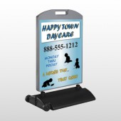 True Happy Care 182 Wind Frame Sign