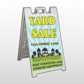 Neighbor Sale 549 A Frame Sign