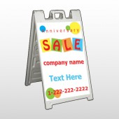 Square Circle Sale 15 A Frame Sign