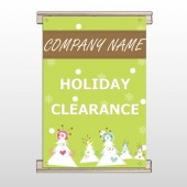 Holiday Clearance Track Banner
