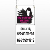 Hair 130 Window Sign
