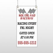 Racetrack 31 Window Sign