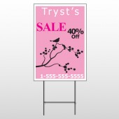 Bird Branch Sale 08 Wire Frame Sign