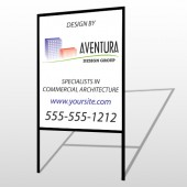Architect 25 H-Frame Sign