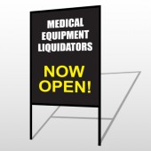 Medic Liquidation 331 H-Frame Sign