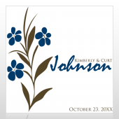 Wedding 27 Floor Decal