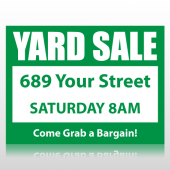 Yard Sale Sign Panel