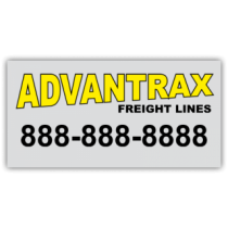 Advantrax Freight Lines Magnetic Sign - Magnetic Sign