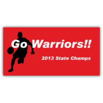 Go Warriors 2013 State Champs