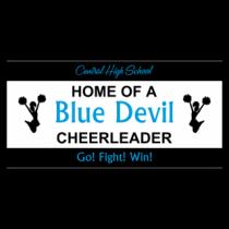 Central High School Blue Devil Cheerleader