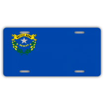 Nevada State Flag License Plate