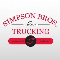 Simpson 302 Truck Lettering