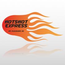 Hot Shot 306 Truck Lettering