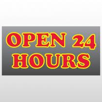 Open 270 Window Lettering