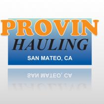 Provin 301 Truck Lettering