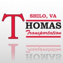 Thomas 338 Truck Lettering
