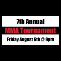 7th Annual MMA Tournament Banner