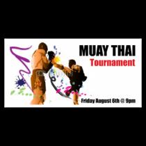 Muay Thai Tournament Banner