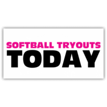 Softball Tryouts Today