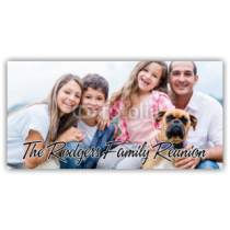 The Rodgers Family Reunion Photo Banner