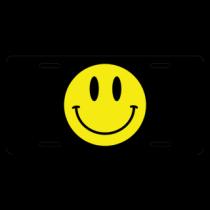 Happy Happy Happy License Plate