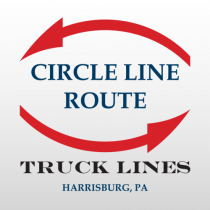 Circle 328 Truck Lettering