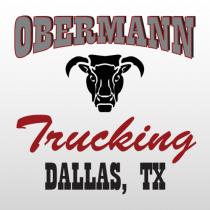 Obermann 311 Truck Lettering