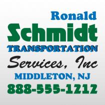 Schmidt 316 Truck Lettering