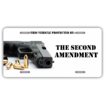 Second Amendment License Plate