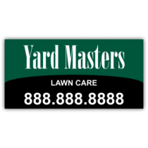 Yard Masters Landscaping Company Magnetic Sign - Magnetic Sign