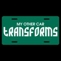 Transforms License Plate