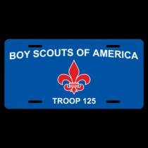 Boy Scouts of America - Troop 125 License Plate