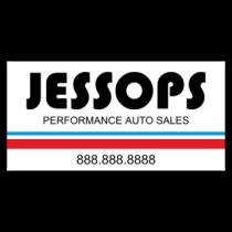 Jessops Performance Auto Vinyl Banner