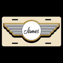 James License Plate