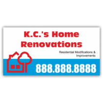 K.C.'s Home Renovations Magnetic Sign - Magnetic Sign