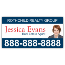 Rothchild Realty Group Magnetic Sign - Magnetic Sign