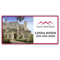 Luxury Real Estate Magnetic Sign - Magnetic Sign
