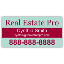 Real Estate Pro Magnetic Sign - Magnetic Sign