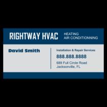 Rightway HVAC Vinyl Banner